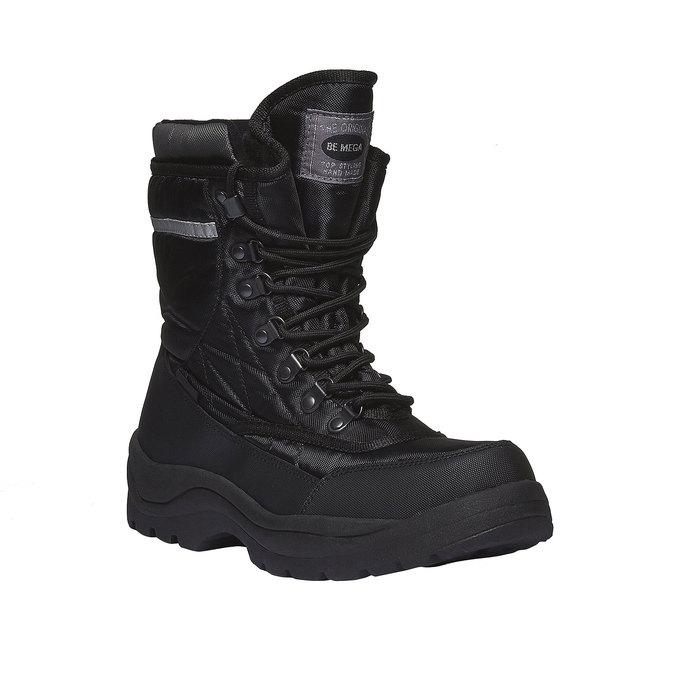Męskie śniegowce bata, czarny, 899-6102 - 13
