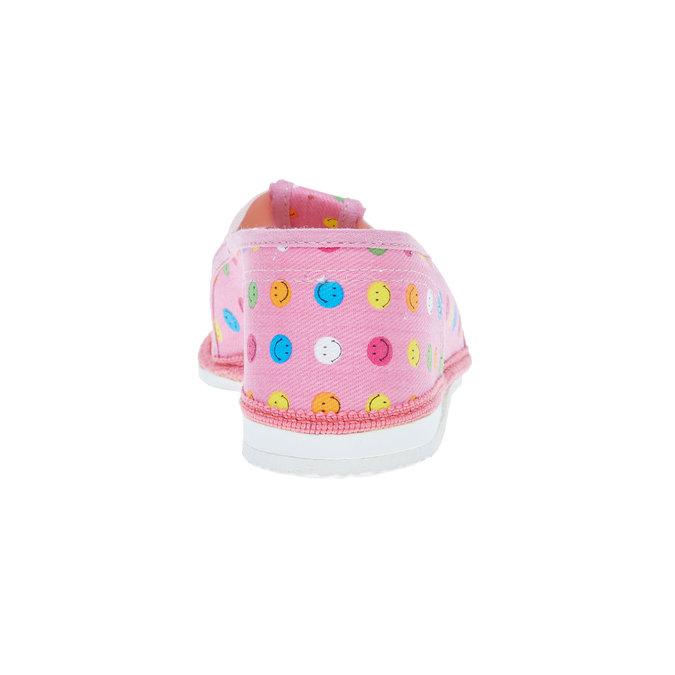 Kapcie dziecięce bata, różowy, 279-5011 - 17