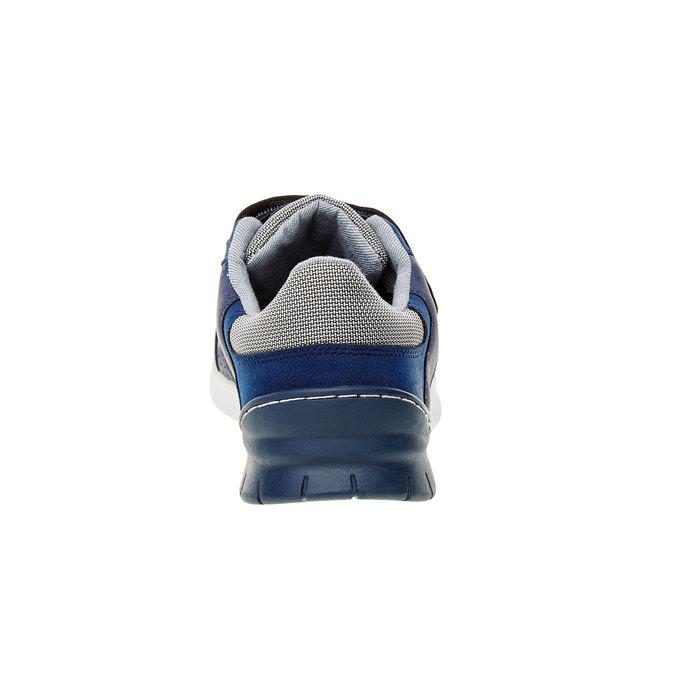 Dziecięce buty sportowe mini-b, niebieski, 311-9192 - 17