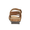 Damskie skórzane sandały weinbrenner, brązowy, 566-4102 - 17