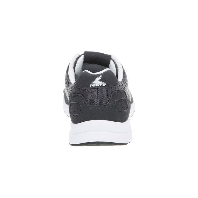 Męskie buty sportowe power, szary, 809-2159 - 17