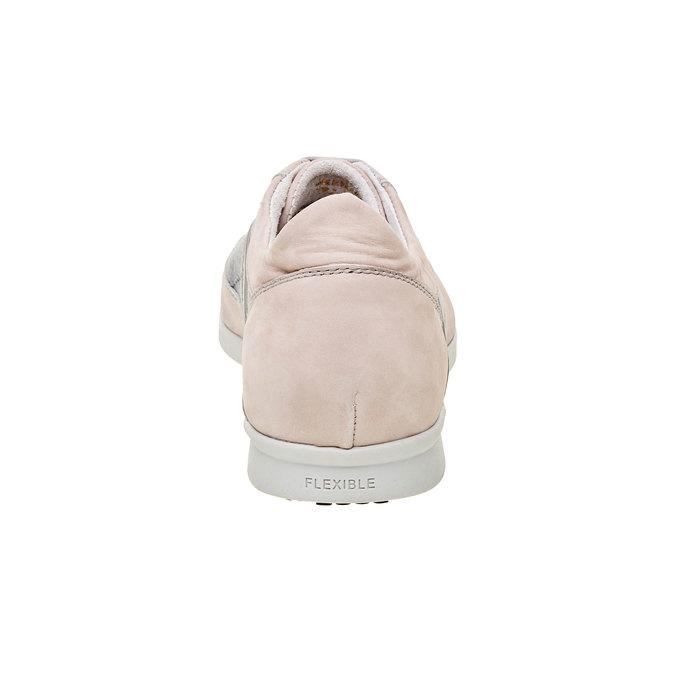 Męskie buty sportowe w codziennym stylu flexible, szary, 826-2638 - 17