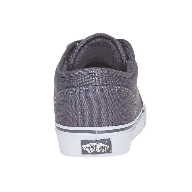Klasyczne obuwie sportowe vans, szary, 889-2160 - 17