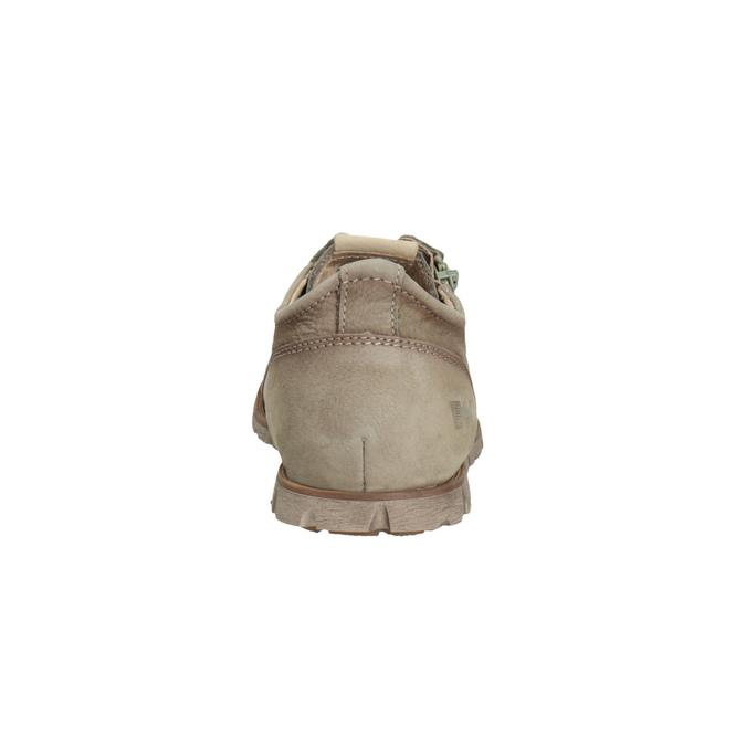 Skórzane półbuty na co dzień z suwakiem weinbrenner, brązowy, 546-8246 - 17