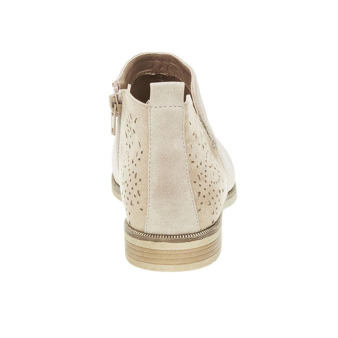 Wiosenne kozaki do kostki bata, biały, 591-8100 - 17