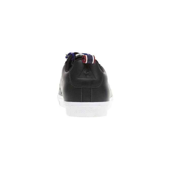 Skórzane trampki le-coq-sportif, czarny, 804-6101 - 17