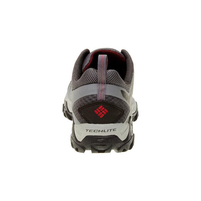 Męskie buty sportowe columbia, czarny, szary, 849-6018 - 17