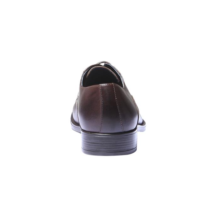 Skórzane półbuty w stylu Derby bata, brązowy, 824-4874 - 17