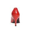 Czółenka damskie ze skóry insolia, czerwony, 728-5620 - 17