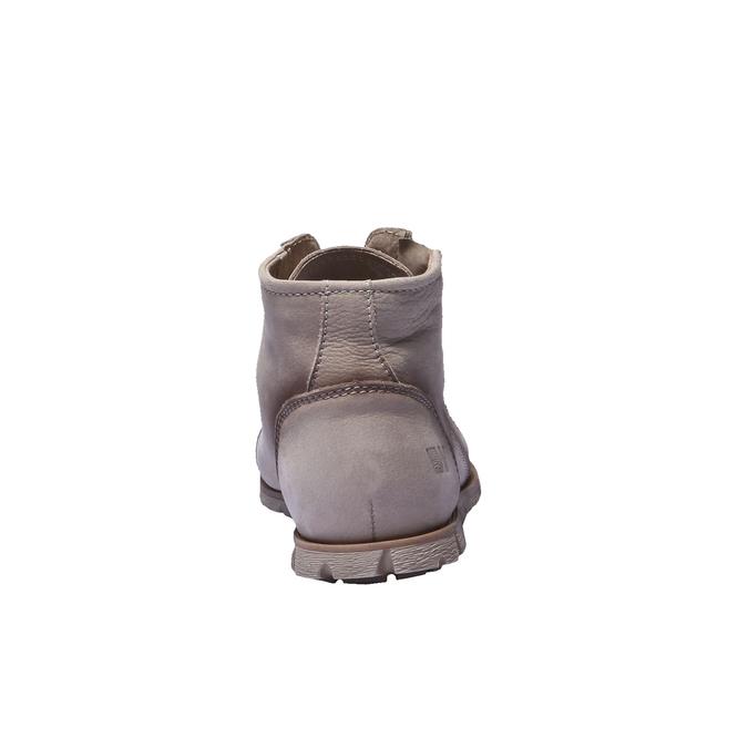 Designerskie buty skórzane weinbrenner, brązowy, szary, 544-2145 - 17
