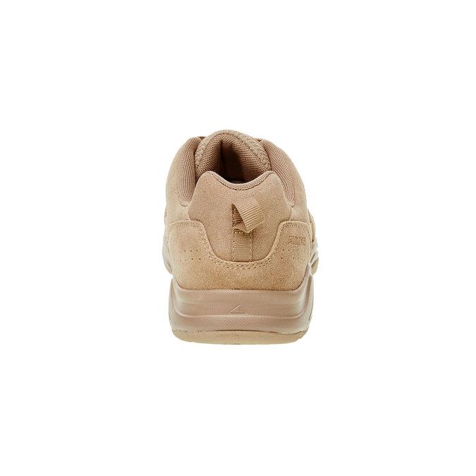Skórzane buty sportowe power, brązowy, 803-3112 - 17