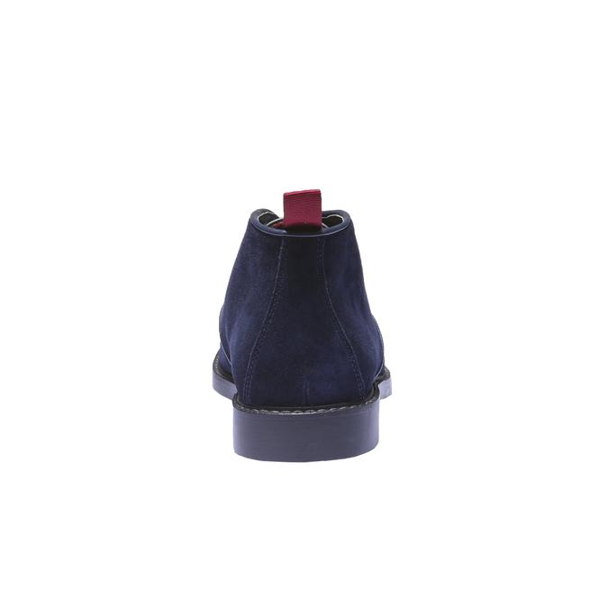 Skórzane buty Chukka bata, niebieski, 893-9245 - 17
