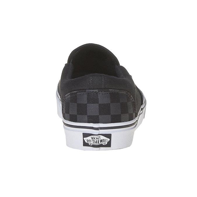 Męskie buty Slip on vans, czarny, 889-6309 - 17
