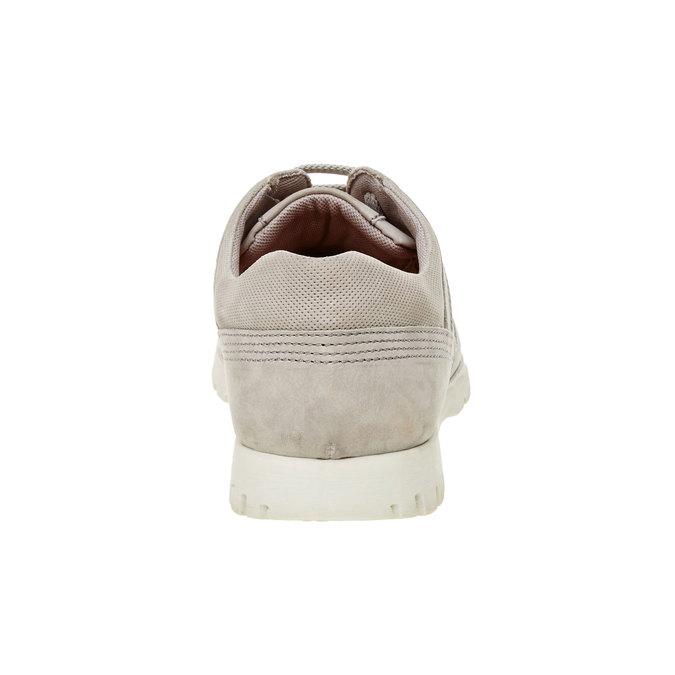Skórzane buty sportowe na co dzień flexible, beżowy, 846-2650 - 17