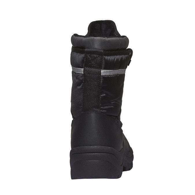 Męskie śniegowce bata, czarny, 899-6102 - 17
