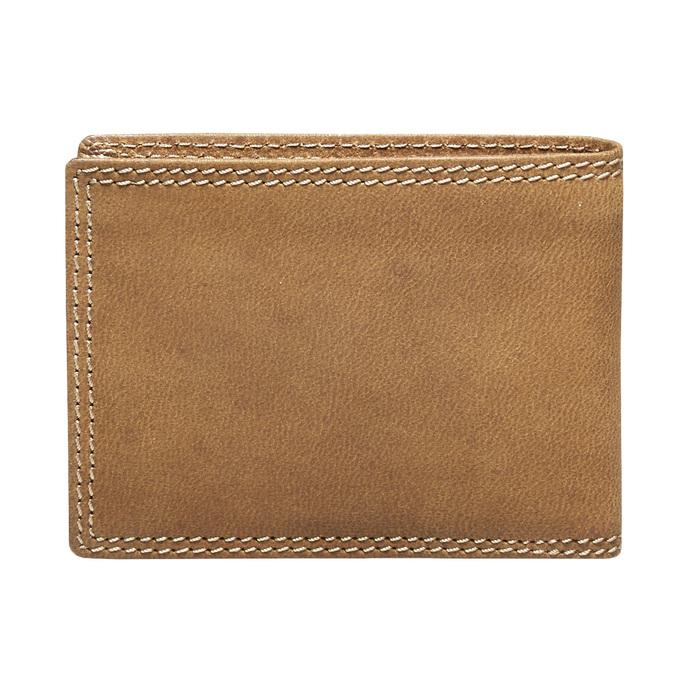 Męski skórzany portfel bata, brązowy, 944-3129 - 26