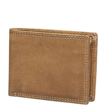 Męski skórzany portfel bata, brązowy, 944-3129 - 13