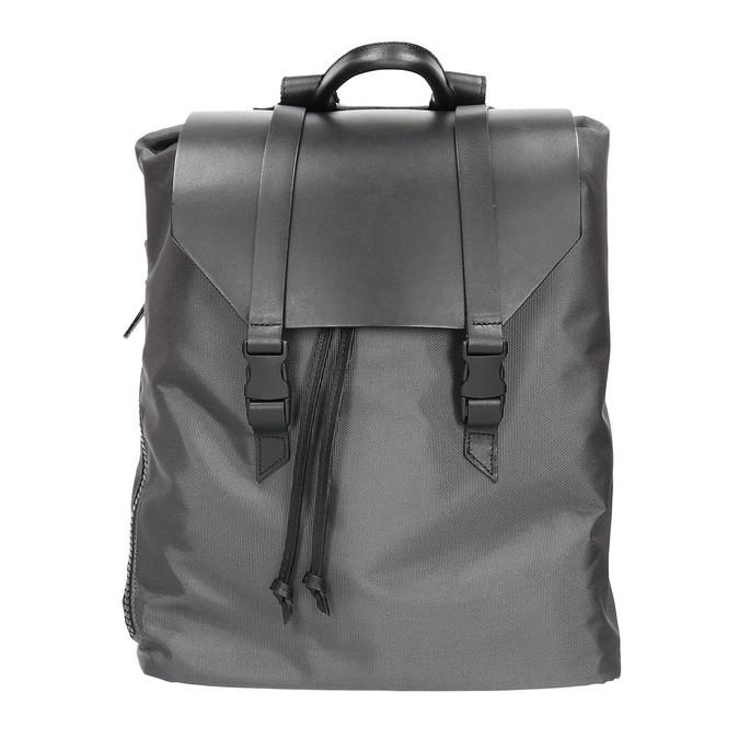 Szary plecak unisex royal-republiq, czarny, 964-6209 - 19