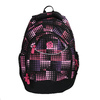 Plecak szkolny w groszki, dla dziewcząt bagmaster, różowy, 969-5601 - 19