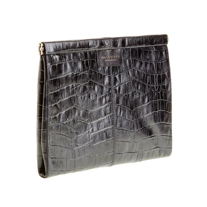 Skórzana kopertówka vagabond, czarny, 966-6095 - 13
