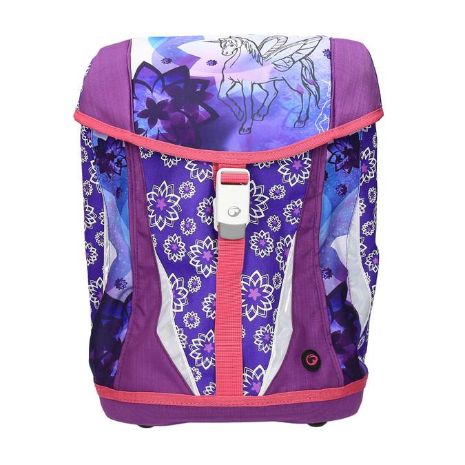 Regulowany plecak szkolny z jednorożcem bagmaster, fioletowy, 969-5611 - 19