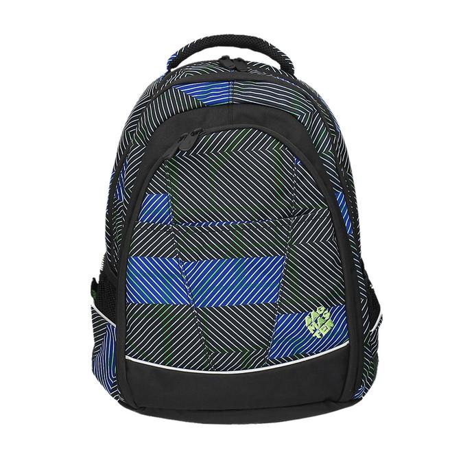 Plecak szkolny z nadrukiem bagmaster, niebieski, 969-9614 - 19