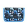 Niebieski piórnik szkolny bagmaster, niebieski, 949-9610 - 26