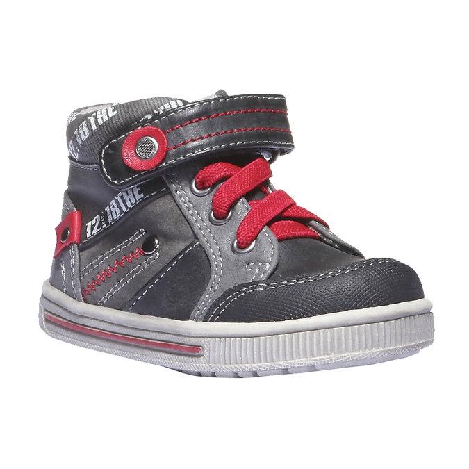 Buty dziecięce mini-b, czarny, 111-6102 - 13