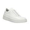 Białe trampki ze skóry bata, biały, 528-1632 - 13