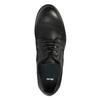 Półbuty ze skóry onieformalnym stylu bata, czarny, 826-6732 - 19
