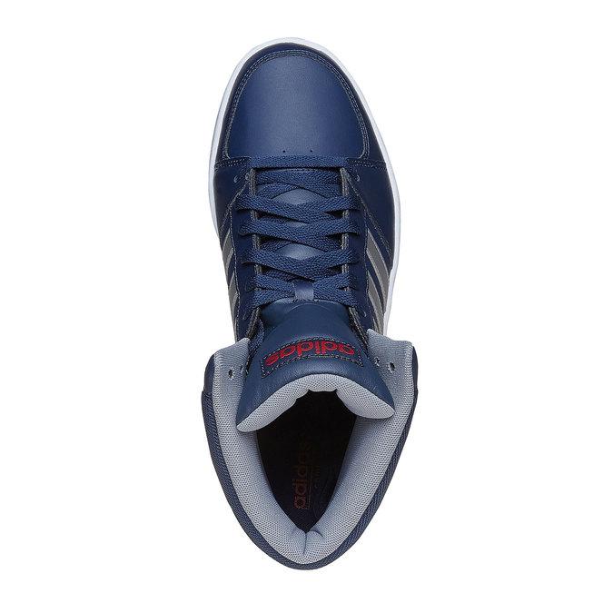 Męskie buty sportowe do kostki adidas, niebieski, 801-9240 - 19