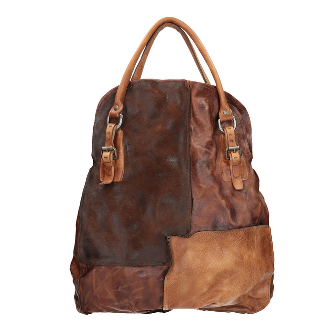 Skórzana torba ze sztywnymi uchwytami a-s-98, 966-0001 - 26