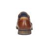Półbuty ze skóry wnieformalnym stylu bata, brązowy, 824-4620 - 17