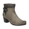 Damskie botki bata, szary, 696-2617 - 13
