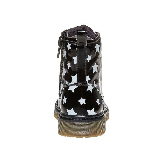 Botki dziecięce na wyraźnej podeszwie mini-b, czarny, 291-6159 - 17