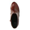 Botki na szerokim obcasie bata, brązowy, 791-4611 - 19