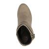 Botki damskie na wysokim obcasie bata, beżowy, 799-2603 - 19