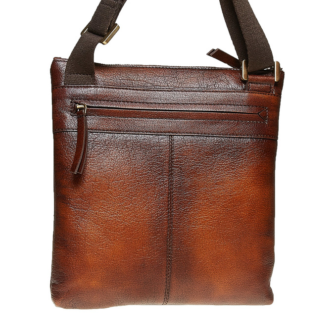 Męska skórzana torba Crossbody bata, brązowy, 964-4138 - 19
