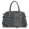 Zamszowa torba bata, szary, 966-2202 - 26