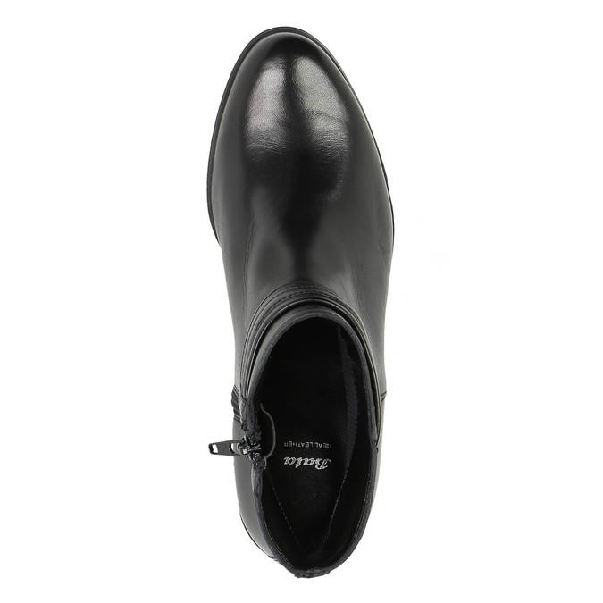 Damskie botki bata, czarny, 594-6614 - 19