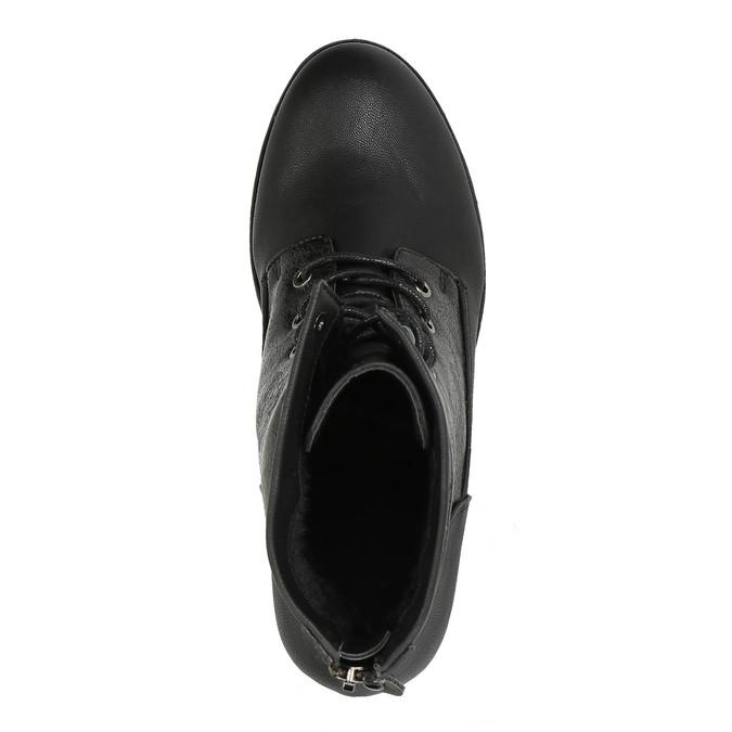 Damskie botki bata, czarny, 591-6609 - 19