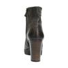 Skórzane botki damskie na platformie bata, 796-4633 - 17