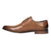 Męskie skórzane półbuty bata, brązowy, 826-3643 - 26