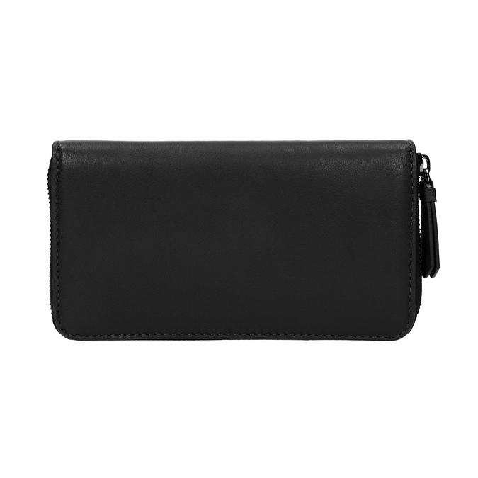 Damski skórzany portfel w czarnym kolorze bata, czarny, 944-6165 - 19