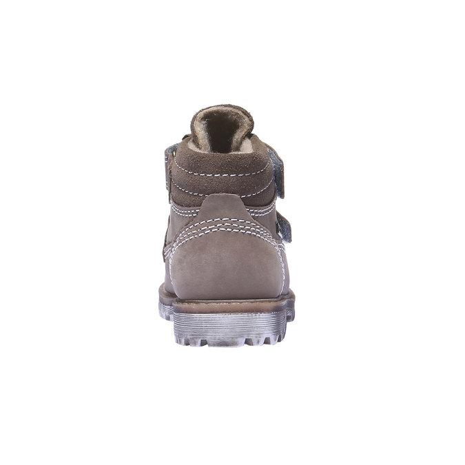 Dziecięce buty skórzane richter, żółty, 296-8002 - 17