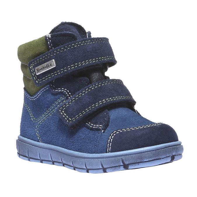 Dziecięce buty skórzane richter, niebieski, 193-9004 - 13