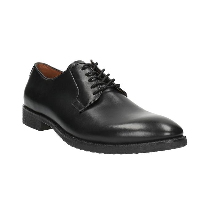 Męskie półbuty typu Derby bata, czarny, 824-6659 - 13