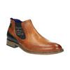 Skórzane ocieplane buty za kostkę bugatti, brązowy, 814-3003 - 13