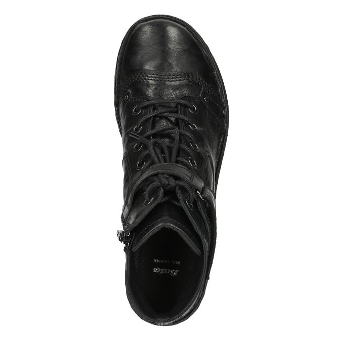 Damskie botki bata, czarny, 526-6602 - 19