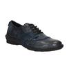 Damskie skórzane buty sportowe bata, niebieski, 526-9601 - 13